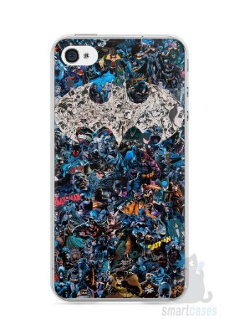 Capa Iphone 4/S Batman Comic Books #3