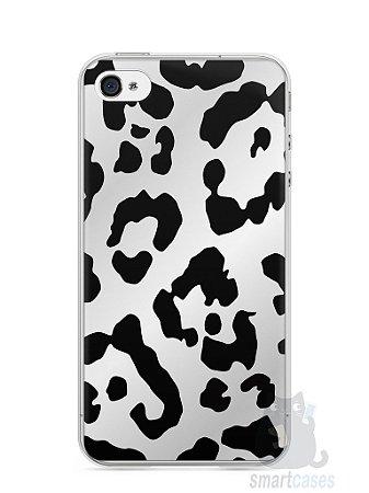 Capa Iphone 4/S Estampa Onça #7