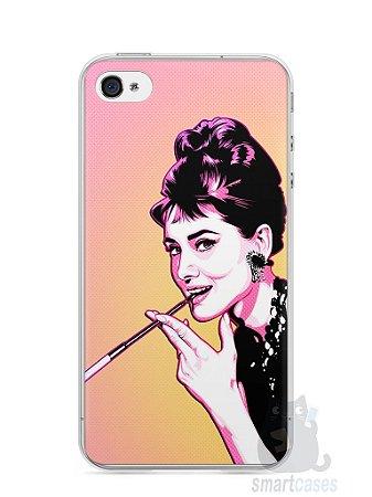 Capa Iphone 4/S Audrey Hepburn #2