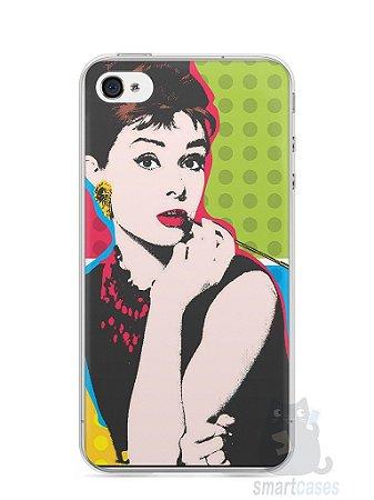 Capa Iphone 4/S Audrey Hepburn #3