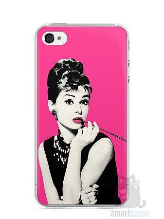 Capa Iphone 4/S Audrey Hepburn #4