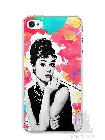 Capa Iphone 4/S Audrey Hepburn #5