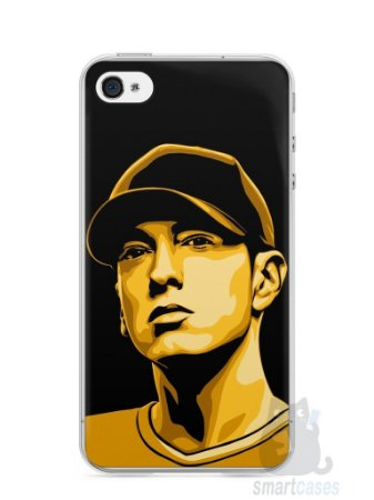 Capa Iphone 4/S Eminem #1