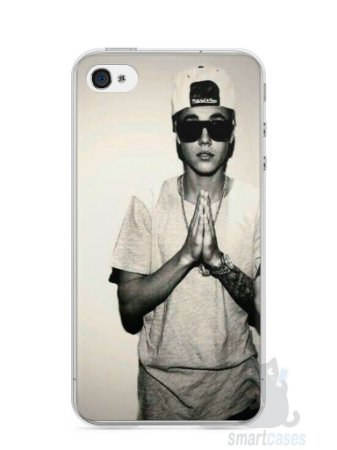 Capa Iphone 4/S Justin Bieber