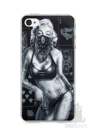 Capa Iphone 4/S Marilyn Monroe #3