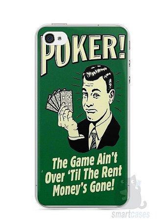 Capa Iphone 4/S Poker #2