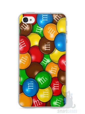 Capa Iphone 4/S M&M's