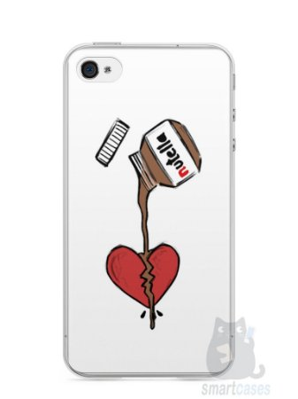 Capa Iphone 4/S Nutella #3