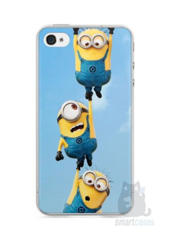 Capa Iphone 4/S Minions #2