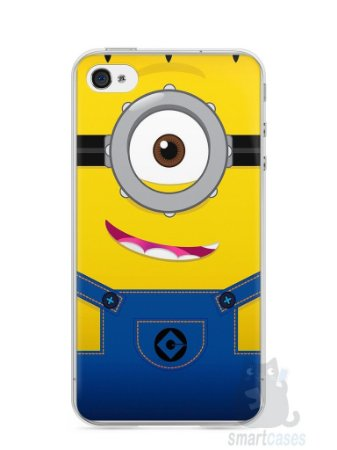 Capa Iphone 4/S Minions #5