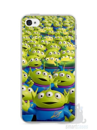 Capa Iphone 4/S Aliens Toy Story #2