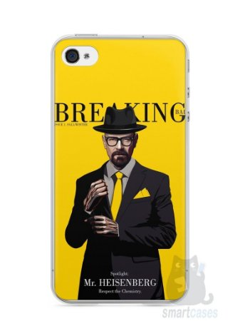 Capa Iphone 4/S Breaking Bad #2