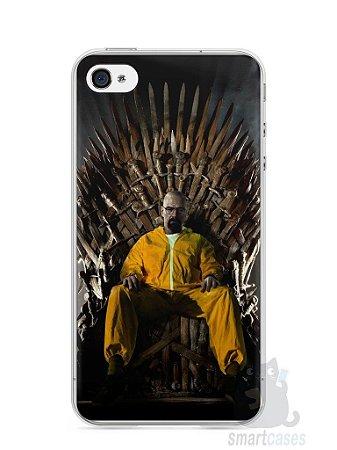 Capa Iphone 4/S Heisenberg Game Of Thrones