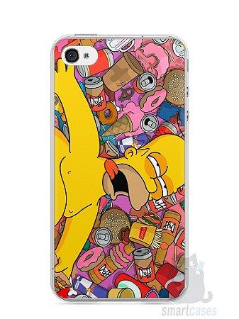 Capa Iphone 4/S Homer Simpson Bêbado