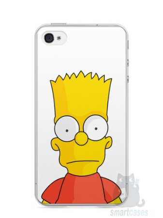 Capa Iphone 4/S Bart Simpson