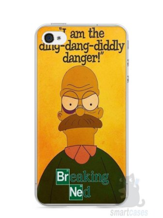 Capa Iphone 4/S Homer Simpson Breaking Bad