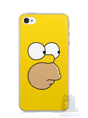 Capa Iphone 4/S Homer Simpson Face