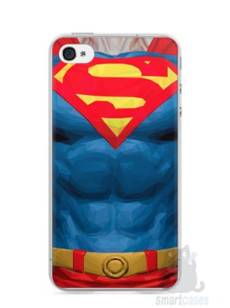 Capa Iphone 4/S Super Homem #2