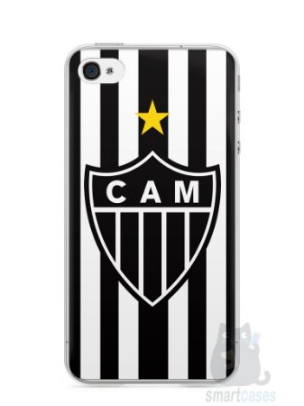 Capa Iphone 4/S Time Atlético Mineiro Galo #1