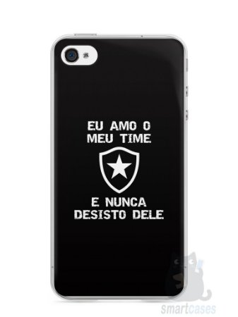 Capa Iphone 4/S Time Botafogo #3