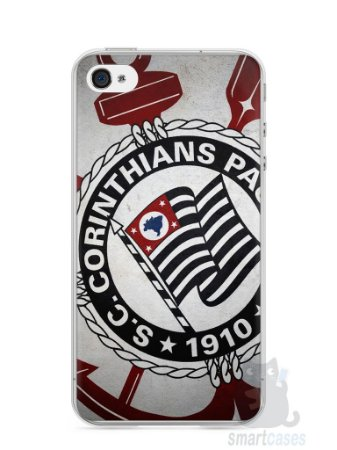 Capa Iphone 4/S Time Corinthians #1