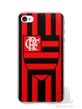 Capa Iphone 4/S Time Flamengo #1