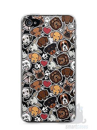 Capa Iphone 4/S Cachorros