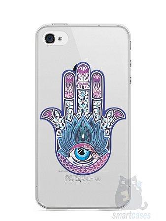 Capa Iphone 4/S Mão de Hamsá #1