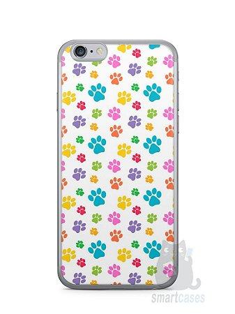 Capa Iphone 6/S Patinhas Coloridas #1