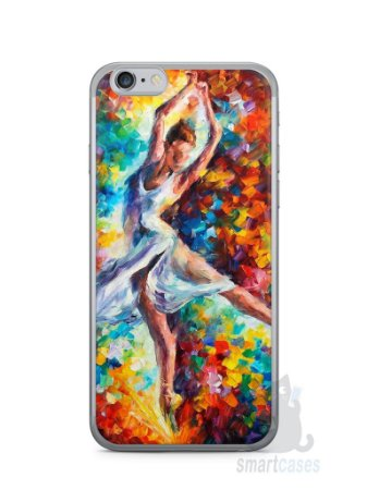 Capa Iphone 6/S Bailarina Pintura