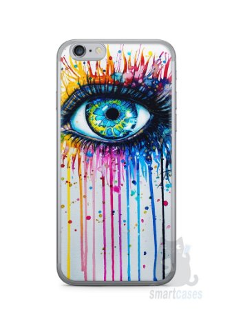 Capa Iphone 6/S Olho Pintura