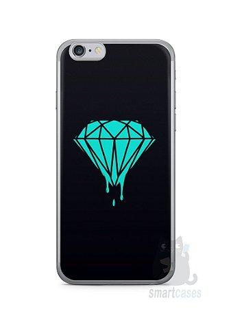 Capa Iphone 6/S Diamante Azul