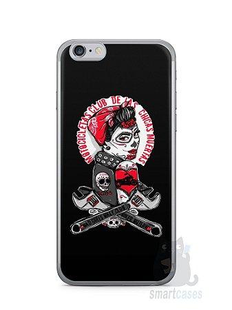 Capa Iphone 6/S Menina Motoqueira
