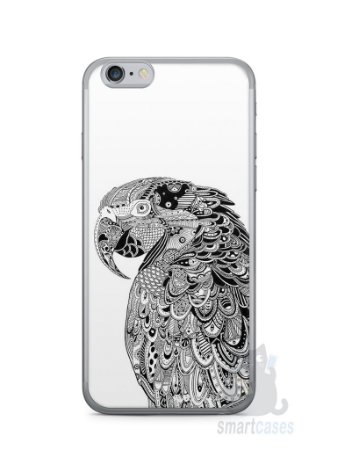 Capa Iphone 6/S Arara Artística