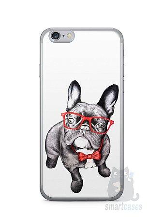 Capa Iphone 6/S Cachorro Bulldog Francês Estiloso