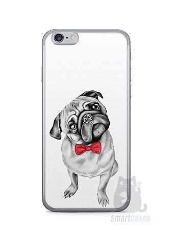 Capa Iphone 6/S Cachorro Pug Estiloso #2