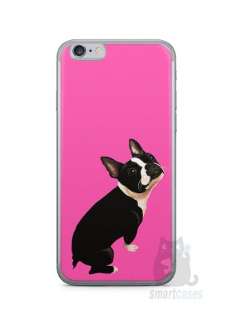 Capa Iphone 6/S Cachorro Boston Terrier