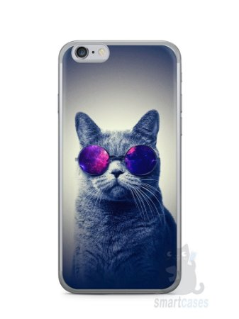 Capa Iphone 6/S Gato Galáxia #2