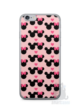 Capa Iphone 6/S Mickey e Minnie