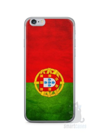 Capa Iphone 6/S Bandeira de Portugal
