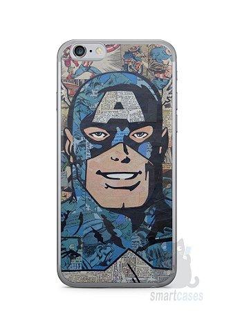 Capa Iphone 6/S Capitão América Comic Books #2