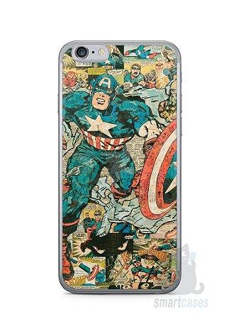 Capa Iphone 6/S Capitão América Comic Books #1