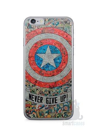Capa Iphone 6/S Capitão América Comic Books #3