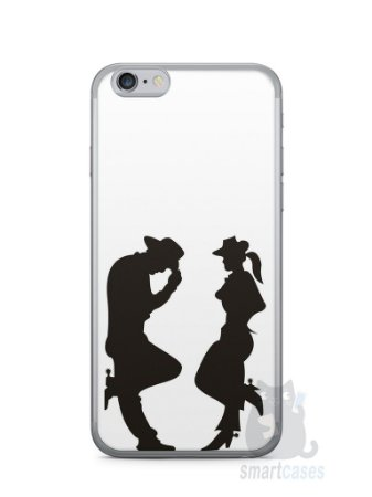 Capa Iphone 6/S Cowboy e Cowgirl