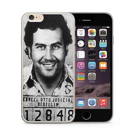 Capa Capinha Apple Iphone 6 6S Pablo Escobar