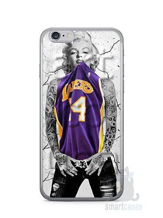Capa Iphone 6/S Marilyn Monroe Lakers