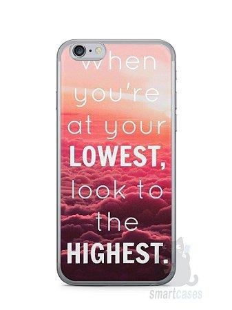 Capa Iphone 6/S Frase #1