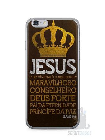 Capa Iphone 6/S Jesus #4