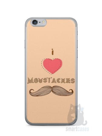 Capa Iphone 6/S I Love Bigode #2