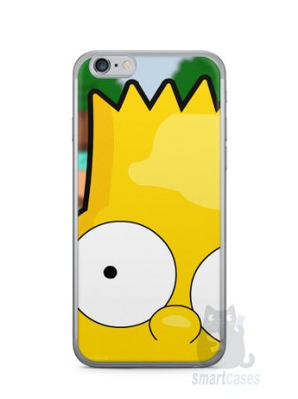 Capa Iphone 6/S Bart Simpson Face